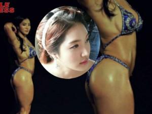 Làm đẹp - Mỹ nhân cơ bắp Hàn Quốc có khuôn mặt xinh như búp bê