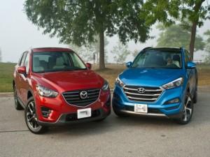 Ô tô - Xe máy - Hyundai Tucson và Mazda CX-5 2016: Ai đo ván ai?