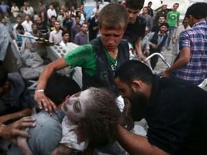 Tin tức trong ngày - Ảnh: Cảnh thanh bình hiếm hoi trong đổ nát ở thủ đô Syria