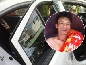 """An ninh Xã hội - """"Ngáo đá"""" khống chế tài xế, châm lửa đốt taxi"""