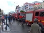 Video An ninh - Cháy quán hủ tiếu: Xót xa người mẹ chết trong tư thế ôm con