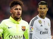 Tin vắn bóng đá - Tin HOT tối 20/10: CR7 vượt Neymar trên Instagram
