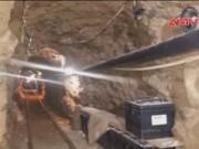 Video An ninh - Phát hiện đường hầm ma túy bí mật ở biên giới Mexico-Mỹ