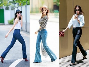 Thời trang bốn mùa - Sao Việt khoe chân dài miên man với quần ống vẩy