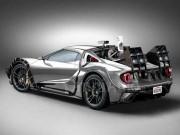 """Xe xịn - Lạ mắt với thiết kế """"cỗ máy thời gian"""" Ford GT concept"""