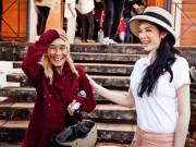 Phim - Lý Nhã Kỳ giản dị tặng nhà tình thương ở Tây Nguyên