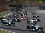 Thể thao - Lịch thi đấu F1: Brazilian GP 2015