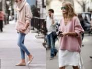 Bí quyết mặc đẹp - Đã đến lúc diện áo len thay cho áo khoác