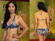 Thời trang - Bất ngờ với thí sinh Hoa hậu châu Á 51 tuổi
