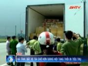 """Video An ninh - Bắt xe tải """"tuồn"""" 500kg nội tạng thối từ Nam ra Bắc"""