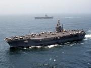 """Thế giới - Ngắm """"pháo đài mặt biển"""" - tàu sân bay USS Eisenhower"""
