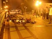 Tin tức Việt Nam - Clip: Taxi bị truy đuổi trước khi gây tai nạn liên hoàn