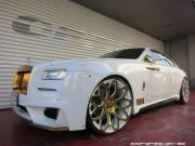 Ô tô - Xe máy - Lóa mắt trước Rolls-Royce Wraith mạ vàng tinh tế
