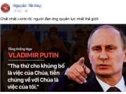 """Thế giới - Sự thật lời tuyên chiến với khủng bố """"gây bão"""" của Putin"""