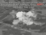 """Video An ninh - Không quân Nga - Pháp dội """"mưa bom"""" trả thù IS"""
