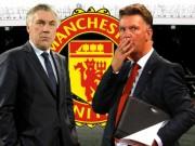 Bóng đá - Van Gaal coi chừng, Ancelotti thích dẫn dắt MU