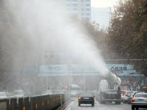 Thế giới - Ảnh: Khói bụi mịt mùng khủng khiếp vây hãm Bắc Kinh