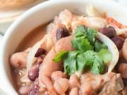Ẩm thực - Sườn nấu đậu đỏ cho bữa cơm tối thêm tròn vị