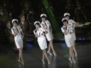 Thế giới - Ban nhạc nữ xinh đẹp của Kim Jong-un biểu diễn ở TQ