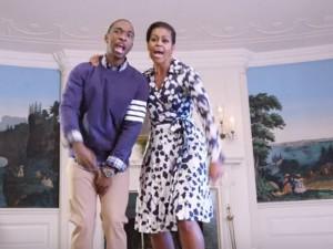 Bạn trẻ - Cuộc sống - Đệ nhất phu nhân Mỹ tung clip đọc rap, nhảy tưng bừng