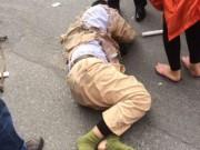 Video An ninh - Hà Nội truy bắt xe tải tông trọng thương, kéo lê CSGT