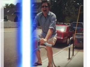 """Công nghệ thông tin - Cách tạo hiệu ứng tia sáng """"Star Wars"""" cho avatar Facebook"""