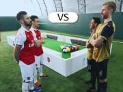 Bóng đá - Dàn sao Arsenal so tài chơi bi-a bằng chân