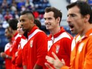 Thể thao - Tennis Ngoại hạng: Đội Murray tiếp tục thăng hoa