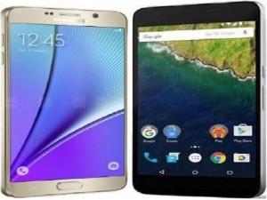 Thời trang Hi-tech - So sánh Google Nexus 6P với Samsung Galaxy Note 5
