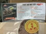 """Video An ninh - Rùng mình 3 tấn thịt bò nhập khẩu hết """"date"""" 4 tháng"""