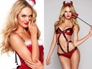 Thời trang - Thiên thần nội y khoe giọng hát... dở tệ chào Noel
