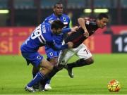 Bóng đá - Sampdoria - Milan: Chiếc thẻ đỏ tai hại