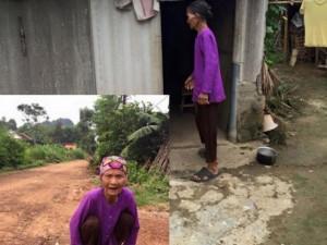 Bạn trẻ - Cuộc sống - Mẹ già 80 sống cô quạnh vì con không ai chịu nuôi