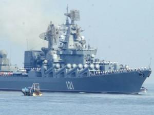 Thế giới - Cuộc sống trên tuần dương hạm Nga dùng tiêu diệt IS