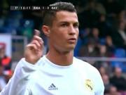 Bóng đá - Video: Ronaldo tỏ thái độ không hài lòng với CĐV nhà