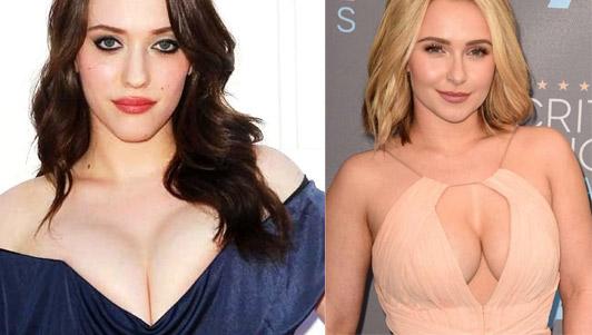 """""""Mánh khóe"""" mặc váy khoe ngực đẹp như sao Hollywood"""