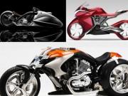 Xe máy - Xe đạp - Diện kiến 7 mẫu mô tô tương lai siêu khủng