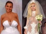 Mùa cưới - Kinh ngạc với những bộ váy cưới thiếu vải, kỳ dị