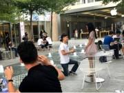 Bạn trẻ - Cuộc sống - Cầu hôn bằng iPhone 7 hụt, chàng trai vẫn thành công