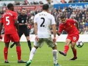 """Bóng đá - Swansea – Liverpool: """"Món quà"""" cuối trận"""