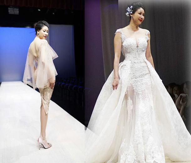 4 hoa hậu Việt tài sắc tự tin làm vedette trên sàn diễn - 1
