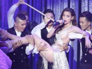 Ca nhạc - MTV - Hà Hồ hở bạo, lả lơi diễn trong vòng tay trai đẹp