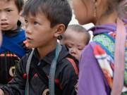 Tin tức trong ngày - Nhói lòng những đứa trẻ cõng em mưu sinh ở Sa Pa