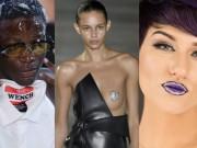 Làm đẹp - Những kiểu trang điểm không giống ai tại tuần lễ thời trang