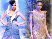 Thời trang - 4 hoa hậu Việt tài sắc tự tin làm vedette trên sàn diễn