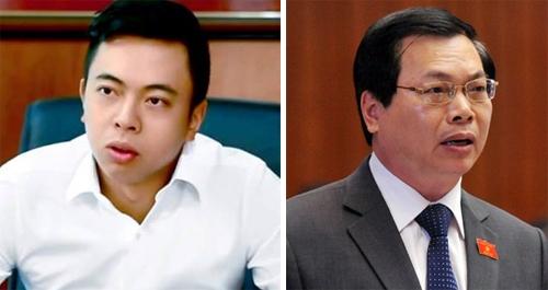 Báo cáo Thủ tướng việc bổ nhiệm con trai ông Vũ Huy Hoàng
