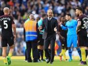 """Bóng đá - Man City đứt mạch bất bại, Pep """"cúi đầu"""" trước Tottenham"""