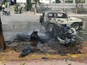 Tin tức trong ngày - Vụ nổ taxi ở Quảng Ninh: Nghi án hành khách tự sát bằng mìn
