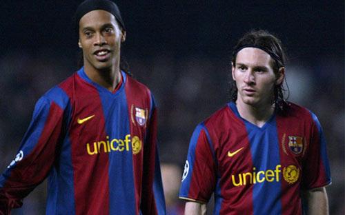 Điều Ronaldinho tiếc nhất: Chơi cùng Messi quá ít