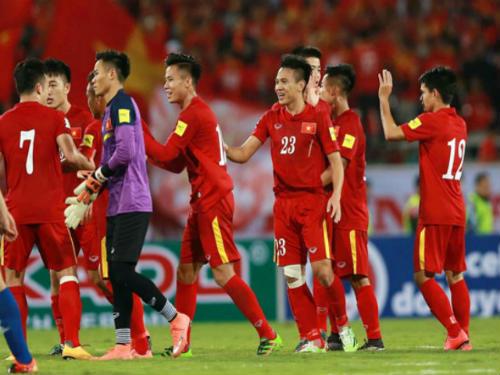 Đội tuyển Việt Nam rộng đường dự World Cup